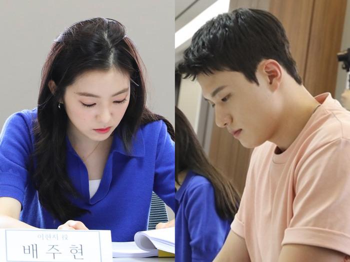 Seriusnya Irene RV dan Shin Seung Ho dalam Sesi Diskusi Naskah Film Double Patty