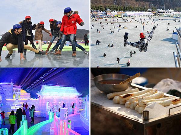 Berbagai Aktivitas Seru Bisa Kamu Nikmati di Festival Es Hwacheon Sancheoneo