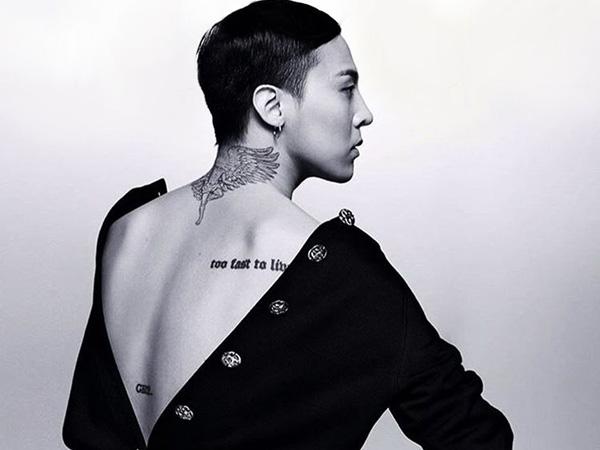 Diabadikan Karl Lagerfeld, G-Dragon Pamer Pose Kharismatiknya di Sampul Vogue