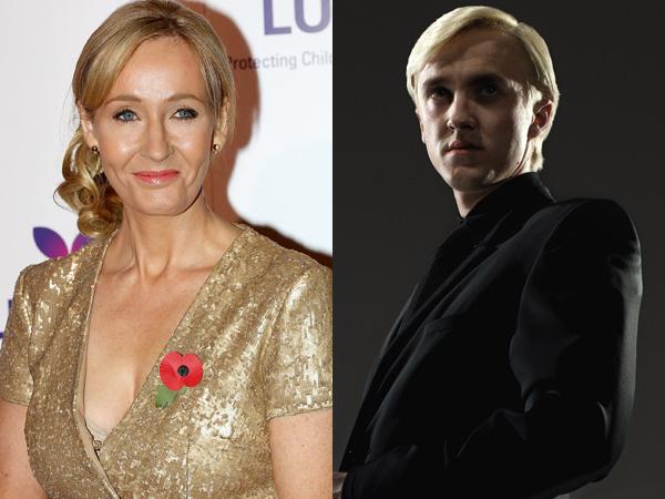 J.K Rowling Bingung dengan Fans yang Jatuh Cinta pada Tokoh Draco Malfoy?