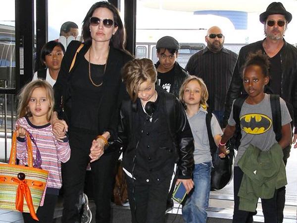 Terungkap! Inilah Anak yang Terlibat Dalam Pertengkaran Hebat Angelina Jolie dan Brad Pitt