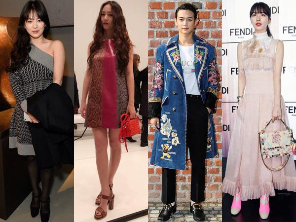 Milan Hingga London, Para Seleb Korea Ini Terlihat Eksis di Pekan Mode Bergengsi Dunia