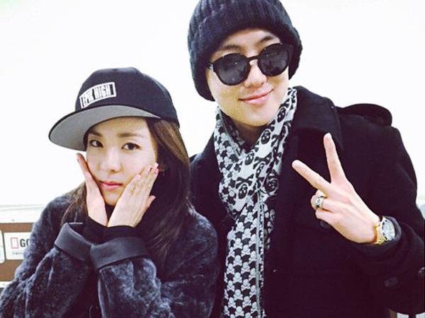 Sandara Park 2NE1 dan Kang Seungyoon WINNER Akan Jadi Pasangan dalam Web Drama!