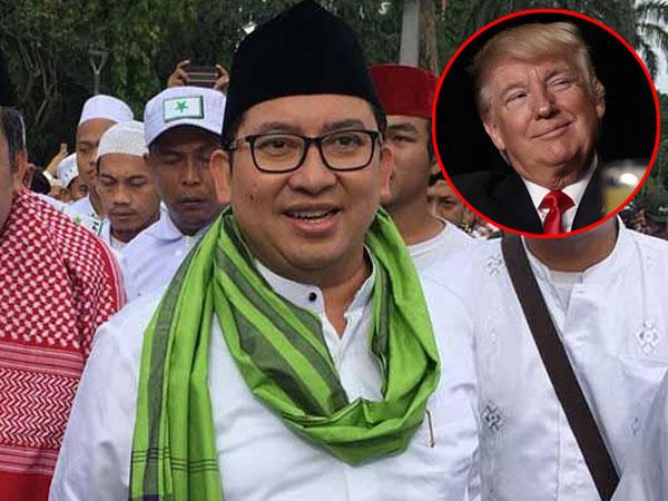 Begini Isi Puisi 'Paman Donald yang Mulia' yang Ditulis Fadli Zon, Sindir Donald Trump?