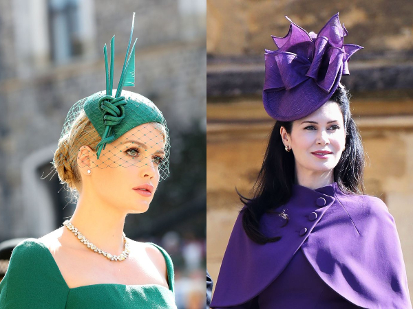 Intip Beragam Model Topi Unik di Royal Wedding William-Kate dan Harry-Meghan!