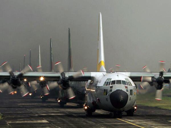 Baru 2 Menit Take Off, Pesawat Hercules TNI Jatuh di Medan