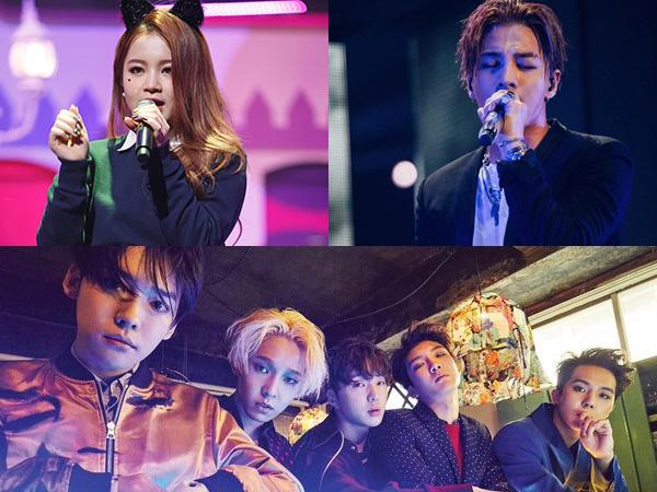Lee Hi dan Taeyang Jadi Artis YG Pertama yang Nyanyikan Potongan Lagu Baru WINNER