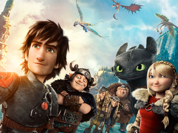 Wow, 'How to Train Your Dragon 2' Jadi Film Animasi Terlaris Tahun Ini?