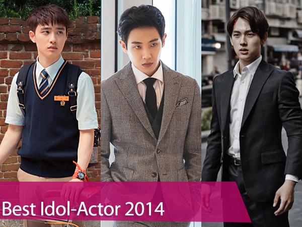 Mulai Dari D.O EXO Hingga Siwan ZE:A, Yuk Simak Idol-Aktor Paling Bersinar di 2014!
