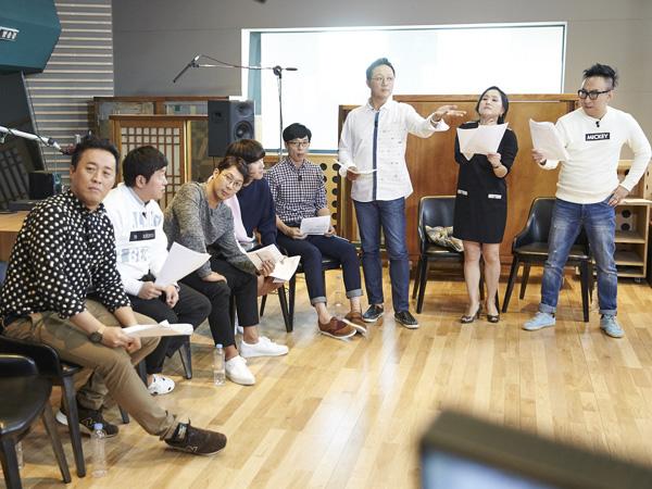 Wah, Anggota 'Infinity Challenge' Dapat Tantangan Isi Suara Film 'Begin Again'?