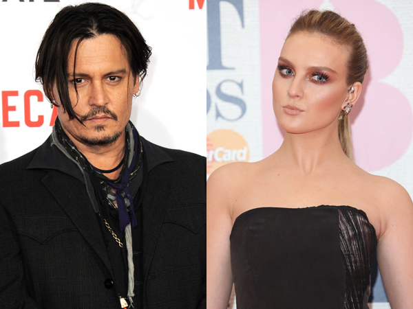 Ngefans Berat, Perrie Edwards Girang Diajak Barbecue di Rumah Johnny Depp