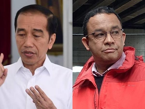 Beda Pendapat Jokowi - Anies Baswedan Soal Penyebab Banjir: Sampah vs Ramalan Cuaca