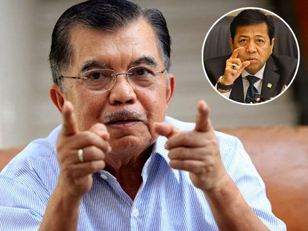 Kritik Wapres Jusuf Kalla Soal Setya Novanto yang Laporkan Pembuat Meme