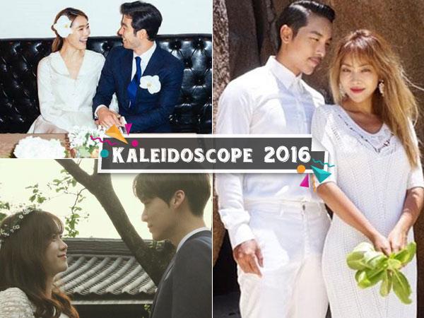 Ini Sederet Kebahagiaan Seleb Korea Umumkan Pernikahan di Tahun 2016