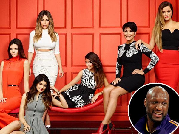 Keluarga Kardashians 'Paksa' Khloe Tinggalkan Lamar Odom di Rumah Sakit