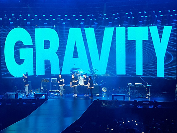 Penuh Pujian di Konser DAY6 Gravity in Jakarta 2019