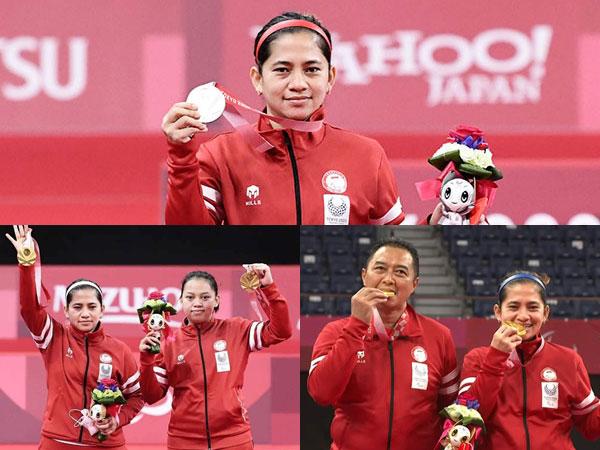 Profil Leani Ratri, Sukses Hattrick Medali Paralimpiade Tokyo 2020