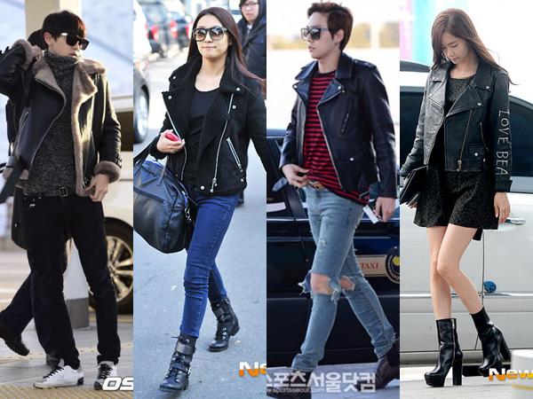 Yuk Tampil Modis dengan Leather Jacket a La Idola K-Pop