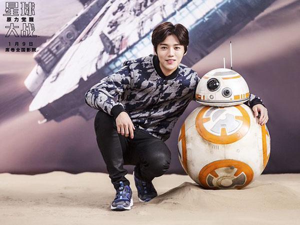 Dipilih Sebagai Duta 'Star Wars' Untuk China, Luhan Bersaing Dengan EXO?
