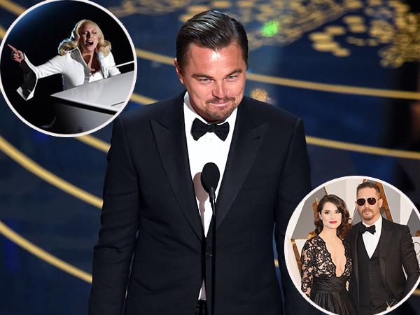 Adegan Manis Hingga Mengharukan, Simak Lagi Momen Tak Terlupakan di Oscar 2016!