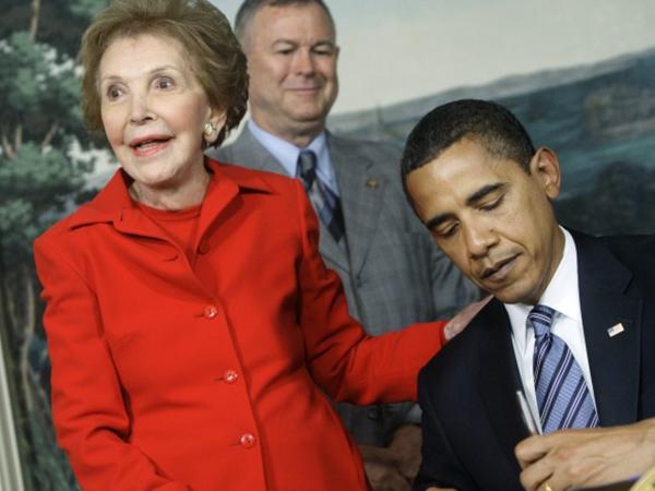 Mantan First Lady Amerika Serikat Paling Berpengaruh Nancy Reagan Meninggal Dunia