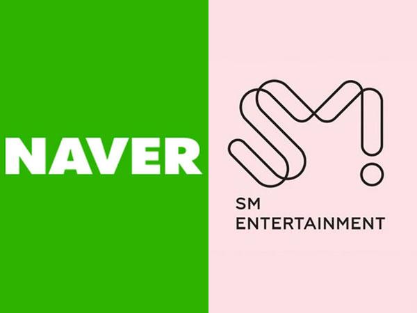 Naver Dikabarkan Investasi Besar-besaran di SM Entertainment