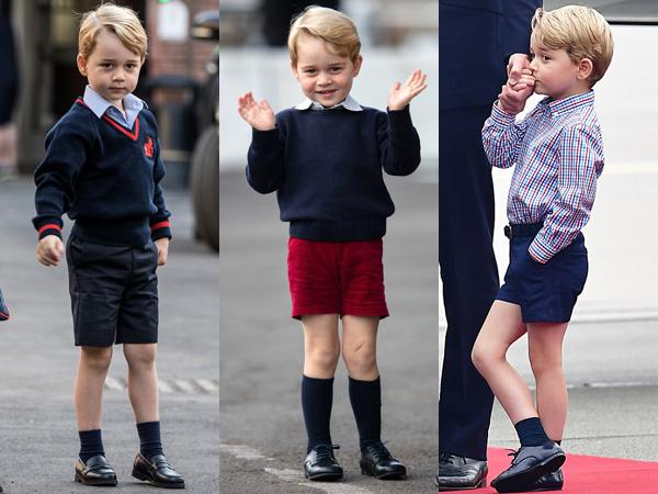 Pangeran George Dapat Predikat Anak Laki-laki Paling Stylish di Inggris