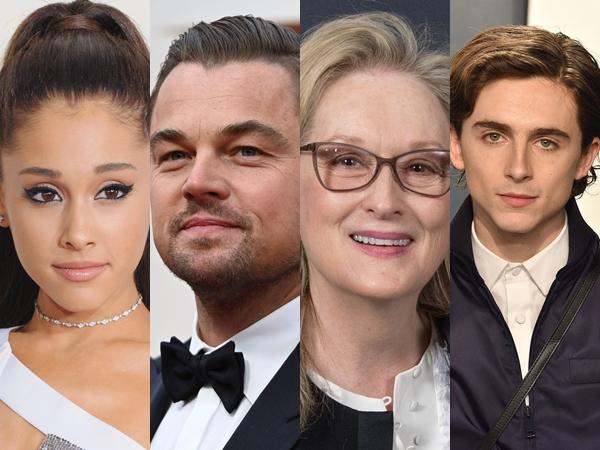 Leonardo DiCaprio Hingga Ariana Grande Beradu Akting di Film Komedi Netflix