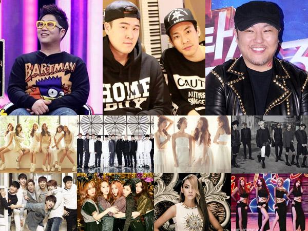 Inilah Para Sosok Jenius di Balik Terciptanya Lagu-lagu Hits Para Idola K-Pop!
