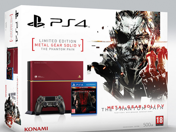 Sony Luncurkan PS4 Edisi Khusus Metal Gear Solid V