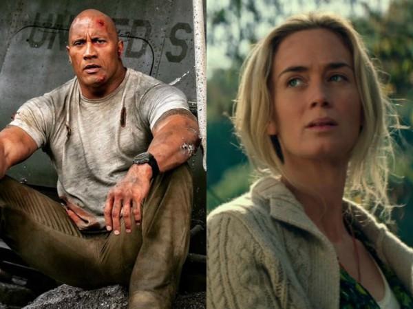 Film Baru Dwayne Johnson Ini Mampu Geser Film Hits Emily Blunt di Puncak Box Office