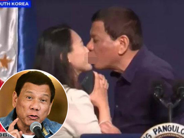 Presiden Duterte Rela Turun Jabatan Perkara Cium Bibir Wanita di Korsel Asal Ada Hal Ini