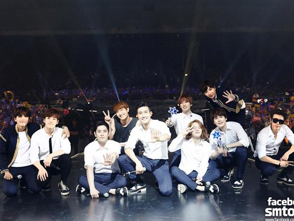 Absennya Heechul dari Jumpa Pers 'MAPS' Pertanda Super Junior Sedang Syuting MV Baru!