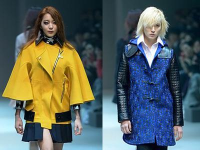 Uee 'After School' & Ren 'NU'EST' Catwalk di Seoul Fashion Week