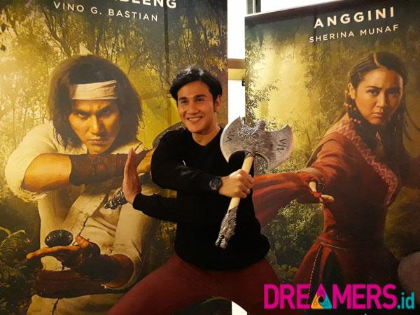 Spesial Dreamers.id: Buka-Bukaan Vino G. Bastian Soal Karakter Wiro Sableng 'Zaman Now'