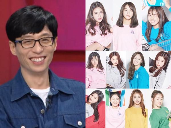 Ngefans Berat, Yoo Jae Suk Dibuat Heboh dengan Kehadiran Girl Group IOI!