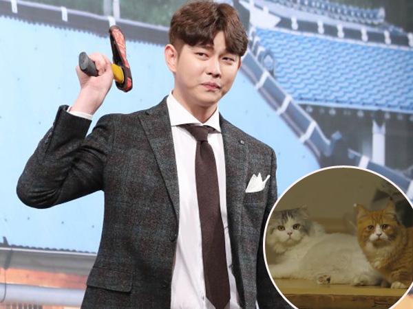 Lucunya, Yoon Kyun Sang Ajak 2 Kucing Kesayangannya Ikut Syuting 'Three Meals a Day'!
