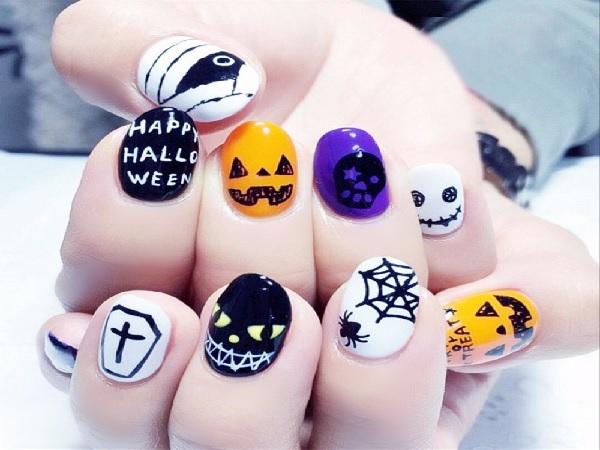 6 Desain Nail Art Bertema Halloween yang Bisa Kamu Tiru