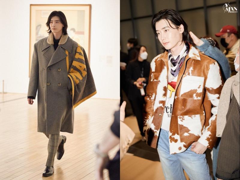 Lee Jong Suk Jadi Model Catwalk Menawan di Seoul Fashion Week