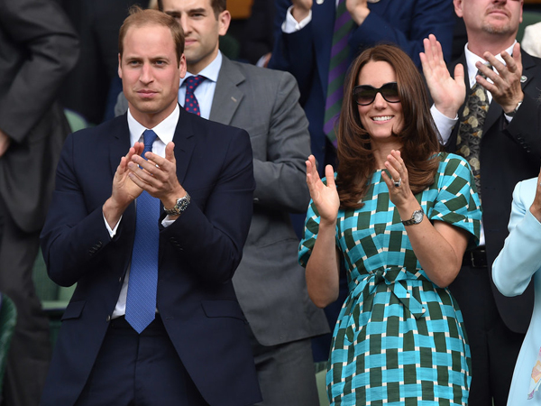 Yuk, Lihat Ekspresi Pangeran William dan Kate Middleton di Wimbledon!