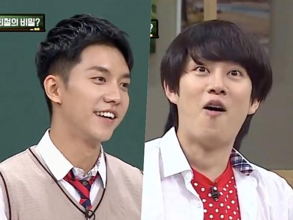Ups, Lee Seung Gi Bocorkan Rahasia Heechul Super Junior Saat Wamil