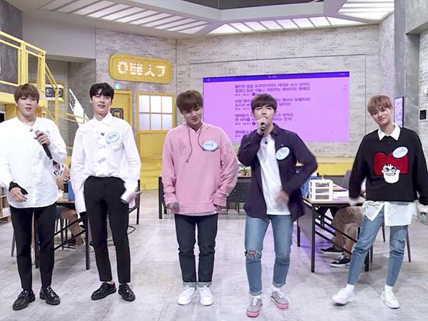 Begini Penampilan Wanna One Bawakan Lagu 'Burn It Up' dengan Bertukar Posisi
