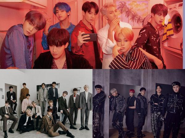BTS Puncaki Chart dengan 3,7 Juta Kopi, Gaon Rilis Album Terlaris Sepanjang 2019
