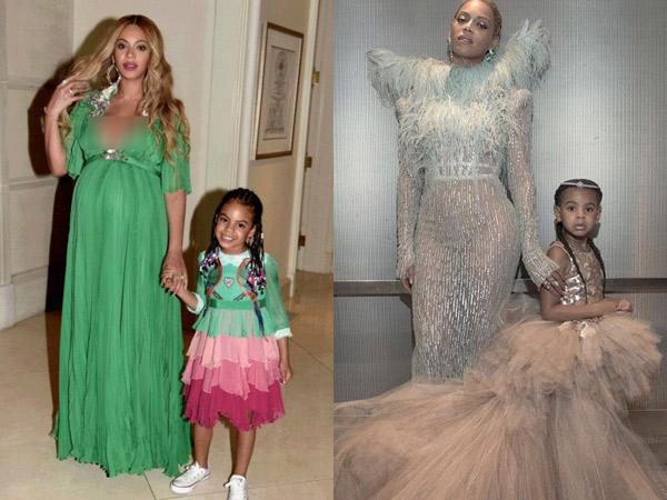 Dibanderol Harga Selangit, Pakaian Putri Kecil Beyonce Ini Jadi Panutan!