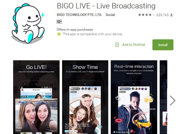 Layanan Streaming Bigo Live Diblokir, Ini Penjelasan Menkominfo