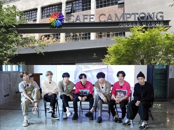 Cafe Camptong, Tempat Wajib Dikunjungi ARMY Saat di Seoul