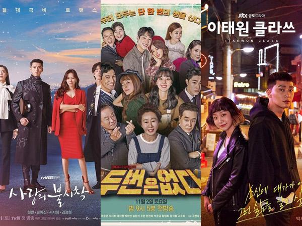 Persaingan Ketat Rating 3 Drama Korea Akhir Pekan yang Jadi Favorit Penonton