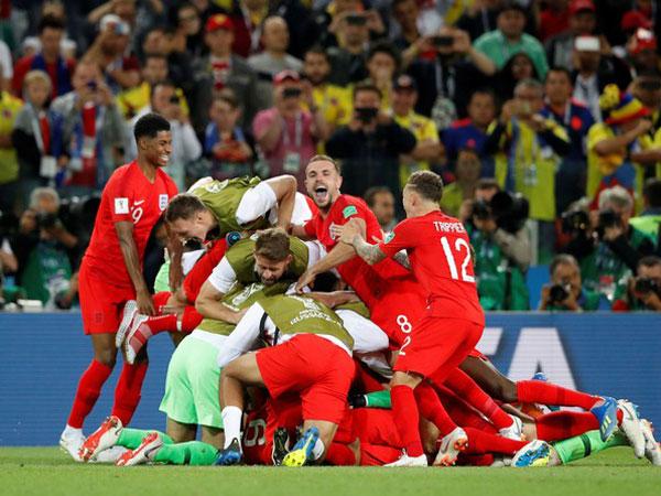 Hebohnya Kemenangan Via Adu Penalti Gugurkan Predikat 'Kutukan' Inggris