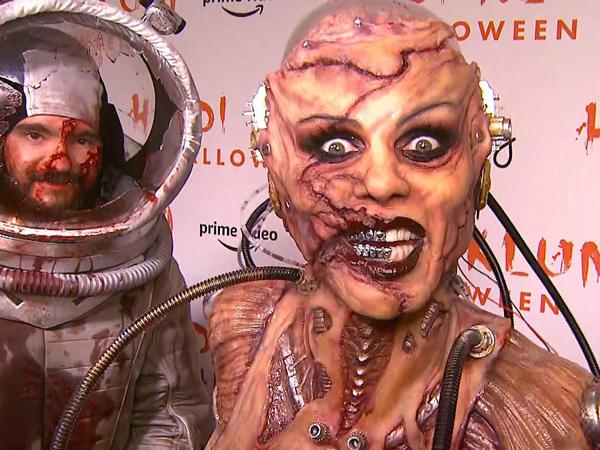 Unik Hingga Menyeramkan, Yuk Lihat Gaya Selebriti Hollywood di Perayaan Halloween