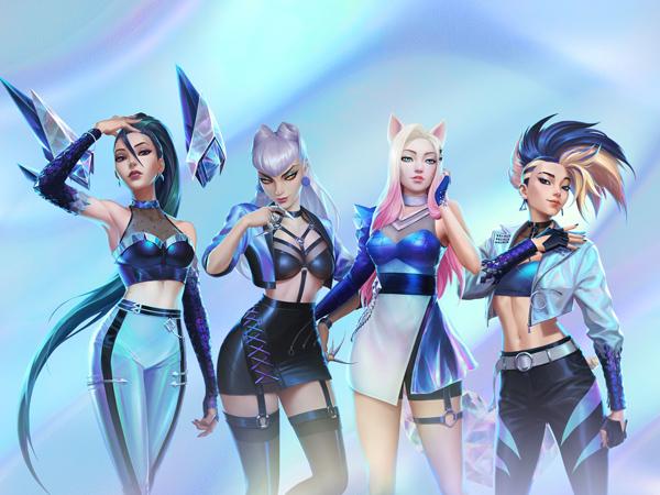 Kenalan Dengan K/DA, Girl Grup Virtual Pertama dari Game League of Legends